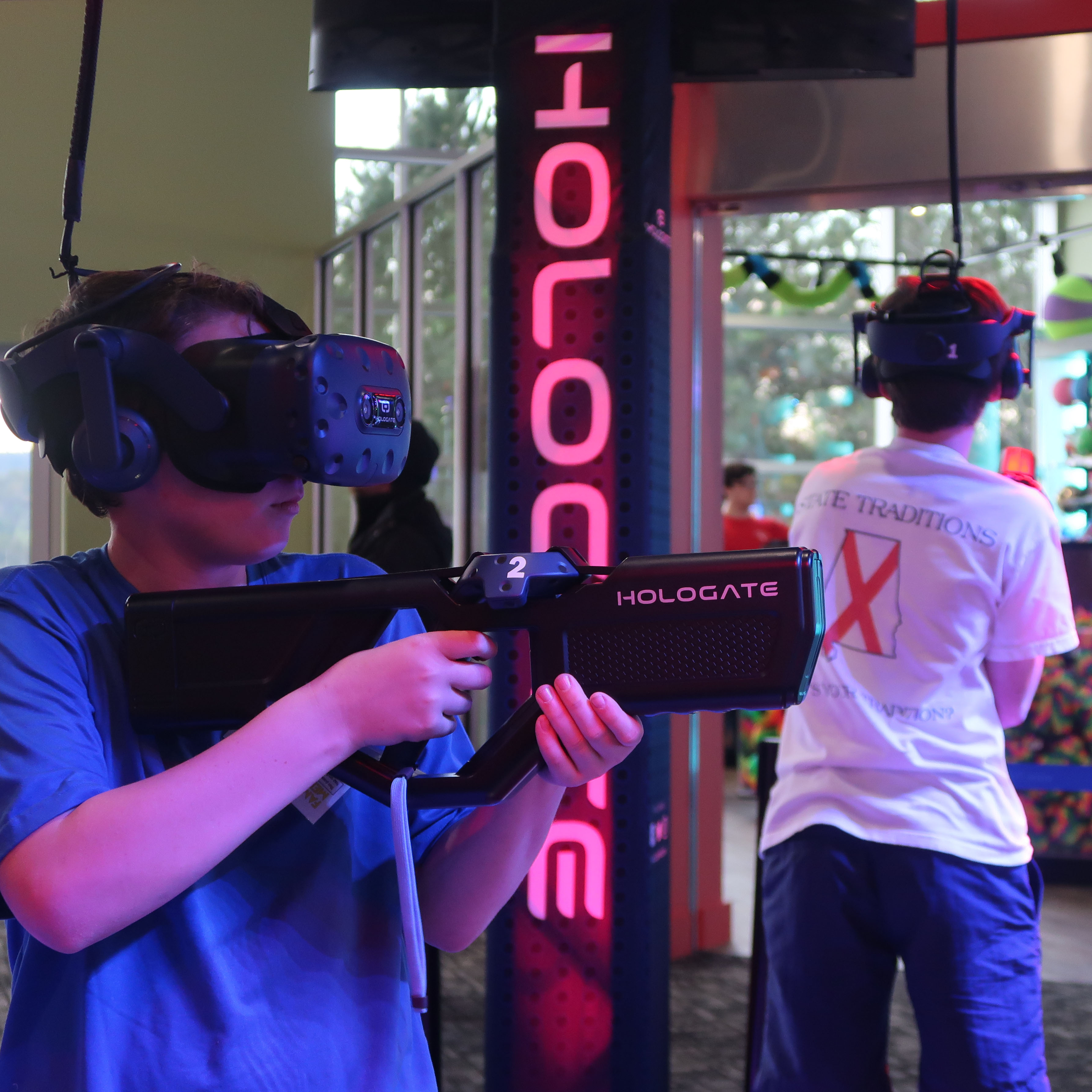 Kids Playing Hologate VR
